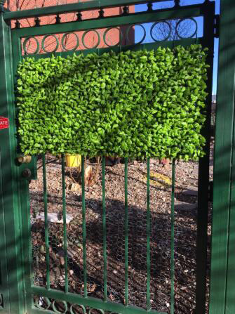 artificial privacy hedge